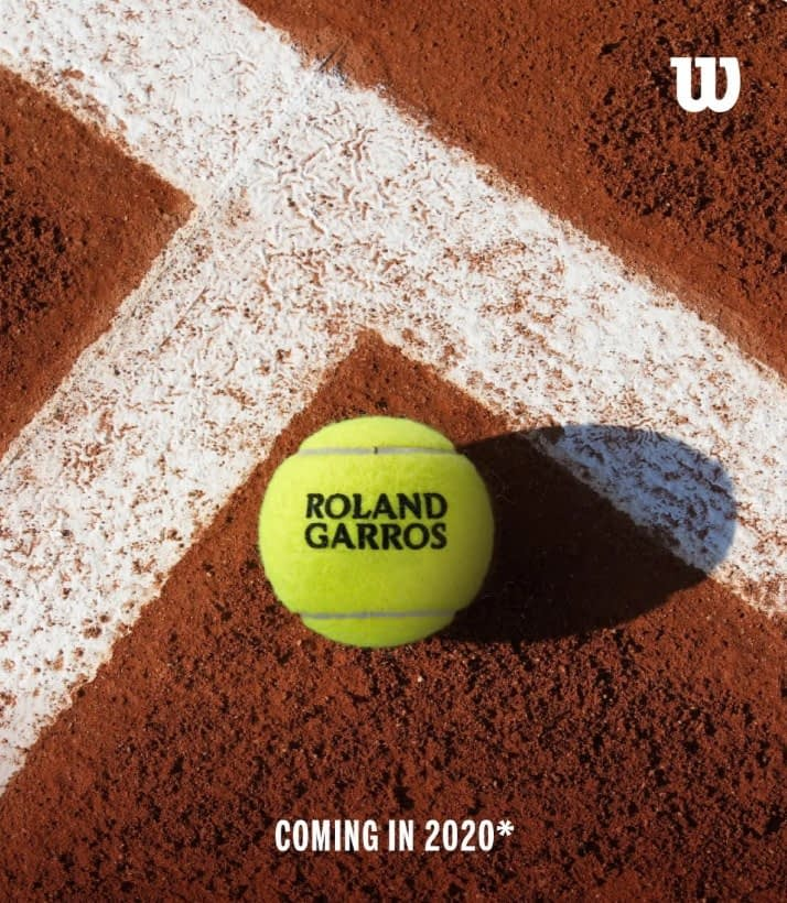 Wilson става официален партньор на Ролан Гарос